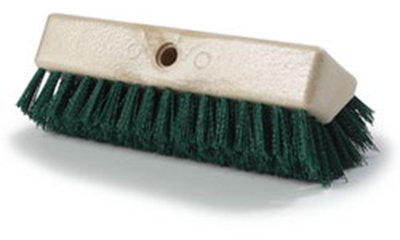 Carlisle 4042309 10-in Floor Brush Head, Green