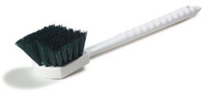"Carlisle 4050109 20"" Utility Brush - Poly, Green"