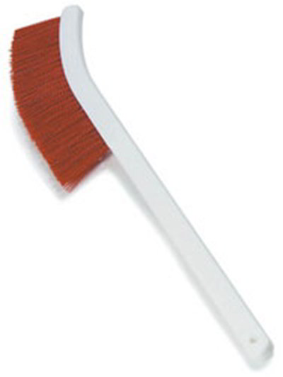 "Carlisle 4119805 24"" Wand Brush - Red"