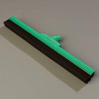 "Carlisle 4156709 18"" Hygienic Floor Squeegee Head - Double Foam, Plastic Frame, Green"