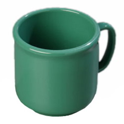 Carlisle 4305209 10-oz SAN Plastic Stackable Mug, Green