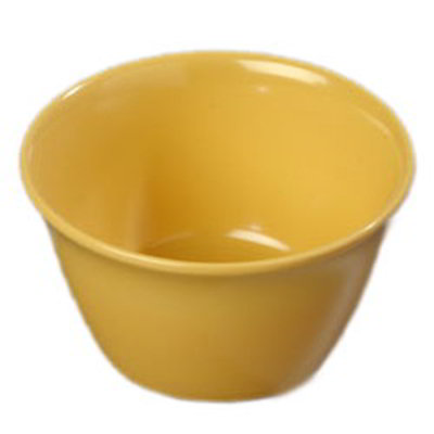 Carlisle 4354022 8-oz Dallas Ware Bouillon Cup - Melamine, Honey Yellow
