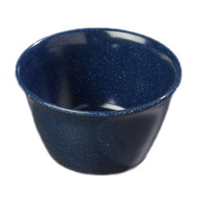 Carlisle 4354035 8-oz Dallas Ware Bouillon Cup - Melamine, Cafe Blue