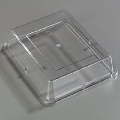 "Carlisle 44432C07 Half Size Food Pan Cover - 2-1/2""D, Melamine, Clear"
