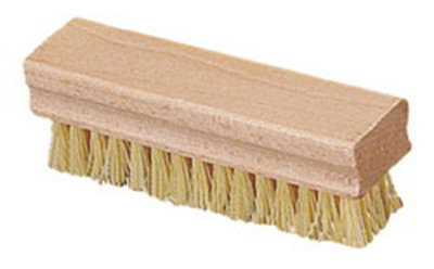 "Carlisle 4550042 1-1/2"" Hand/Nail Brush - Hardwood/Poly, Off"