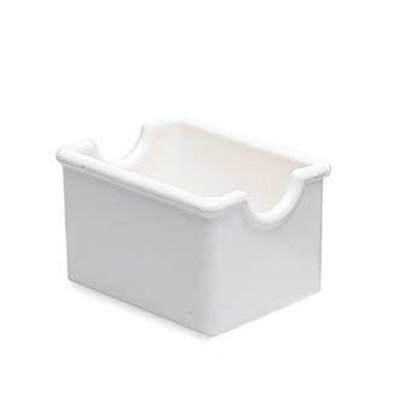 Carlisle 455060 Sugar Packet Caddy - 20-Packet Capacity, Styrene, Cobalt Blue