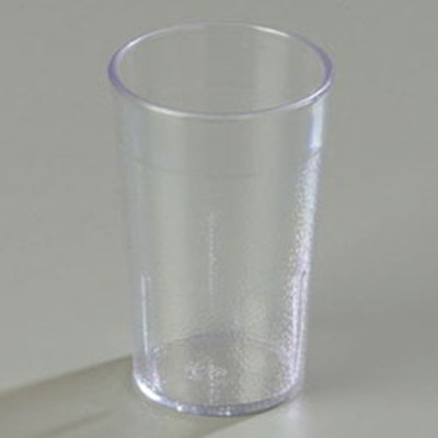 Carlisle 5108-207 8-oz Stackable Tumbler - Clear