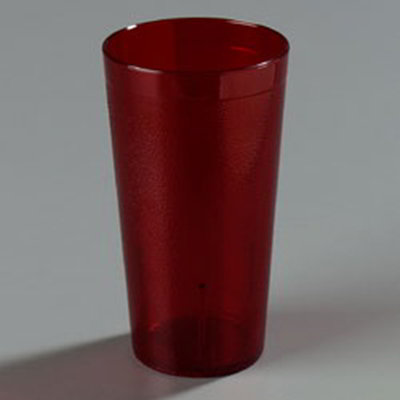 Carlisle 5116-210 16-1/2-oz Stackable Tumbler - Ruby