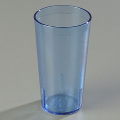 Carlisle 521254 12-oz Stackable Tumbler - Blue