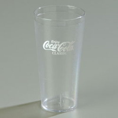 Carlisle 52203550A 20-oz Coca Cola Stackable Tumbler - Cle