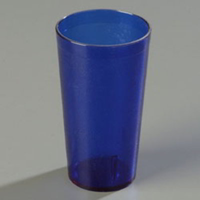 Carlisle 522054 20-oz Stackable Tumbler - Blue