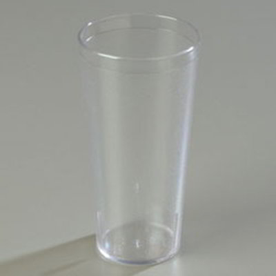 Carlisle 522407 24-oz Stackable Tumbler - Clear