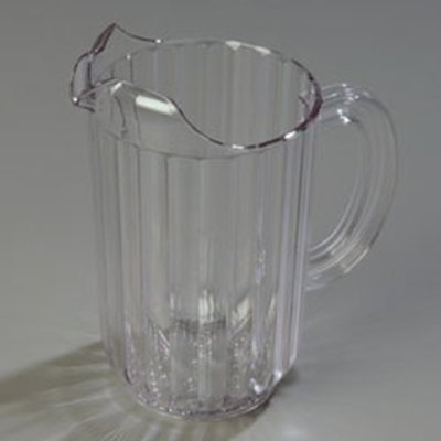 Carlisle 553807 48-oz Pitcher - Polycarbonate, Clear
