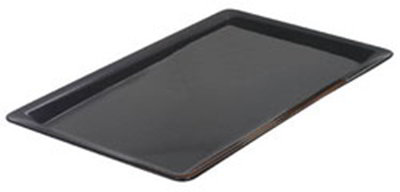 Carlisle 60011103 Full Size Heavy Weight Food Pan, 1-in Deep, Black