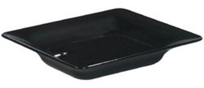 Carlisle 60012203 Half Size Heavy Weight Food Pan, 2.5-in Deep, Black