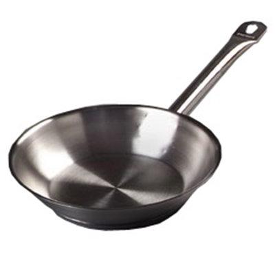 """Carlisle 601008 7"""" Fry Pan - Aluminum"""
