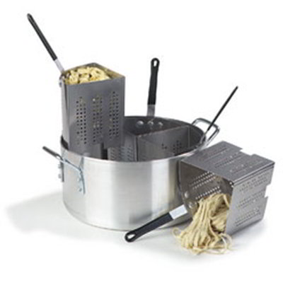 Carlisle 60100PC 20-qt Sectional Pasta Cooker Set - Aluminum