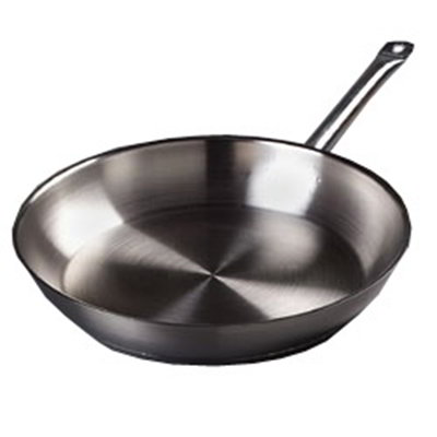 "Carlisle 601014 14"" Fry Pan - Aluminum/Stainless"