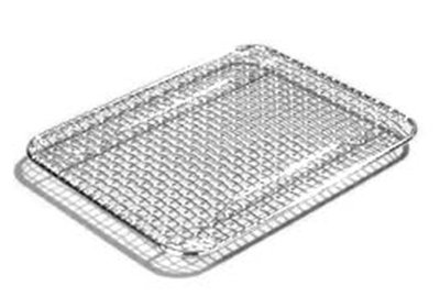 "Carlisle 602203 Drain Grate - 10-1/2x8-1/2"" Chrome Plated"