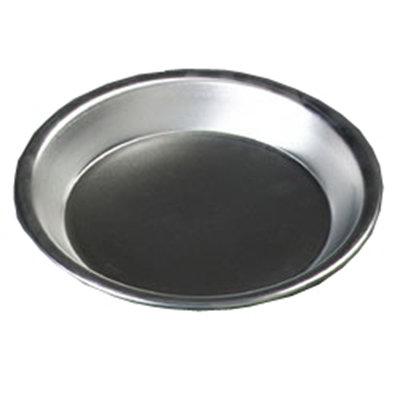 """Carlisle 60322 9"""" Pie Pan - 18-ga Aluminum"""