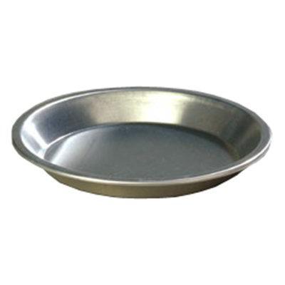 """Carlisle 60324 10"""" Pie Pan - 18-ga Aluminu"""