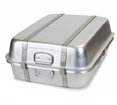 Carlisle 60346 26-qt Double Roaster - Lugs, 16 ga Aluminum
