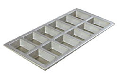 Carlisle 606903 Mini Loaf Pan -