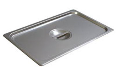 Carlisle 607000C Steam Table Pan Cover - Full Size, Solid, Flat, Stainless Steel