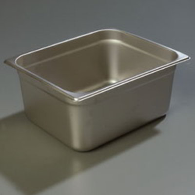 "Carlisle 607126 Half-Size Perforated Steam Table Pan - 6"" D, Stainless"