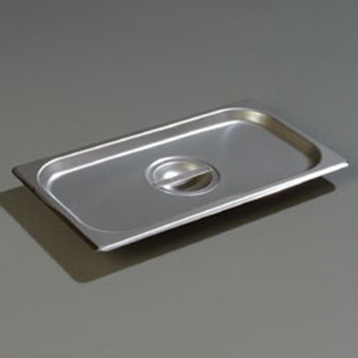 Carlisle 607130C 1/3 Size Steam Table Pan Cover - Solid, Flat, Stainless