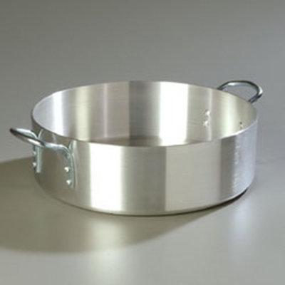 Carlisle 60767 24-qt Heavy Weight Brazier Pot w/ 2-Loop Handles, Aluminum