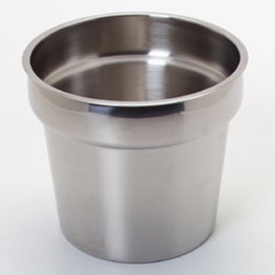 Carlisle 607707 7-qt Inset - Stainless Steel
