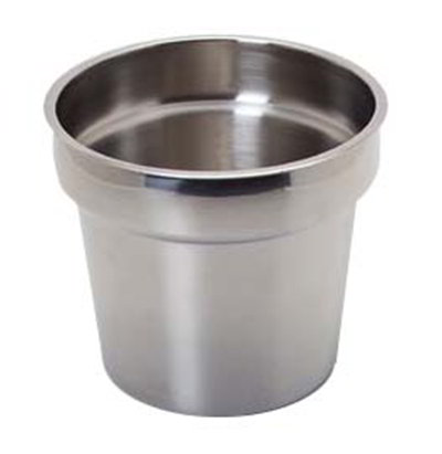 Carlisle 607711 11-qt Inset - Stainless Stee