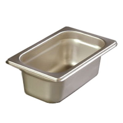 "Carlisle 608192 1/9 Size Steam Table Pan - 2-1/2"" D, Stainless Steel"