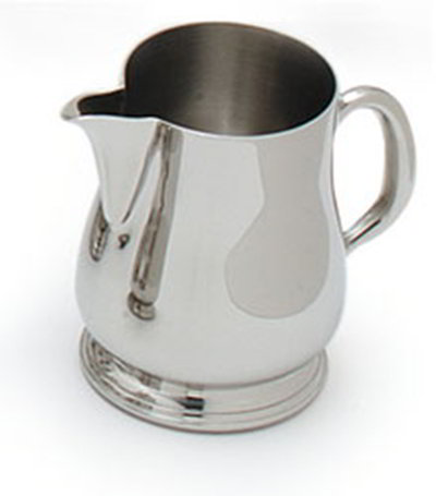 Carlisle 609067 Encore 5-oz Open Creamer, Stainless Steel