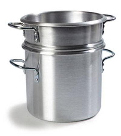 Carlisle 60921 12-qt Double Boiler Stock Pot