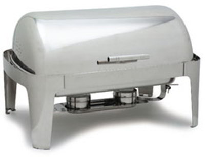 Carlisle 609576 8-qt Rectangular Chafer - Roll Top, Stainless