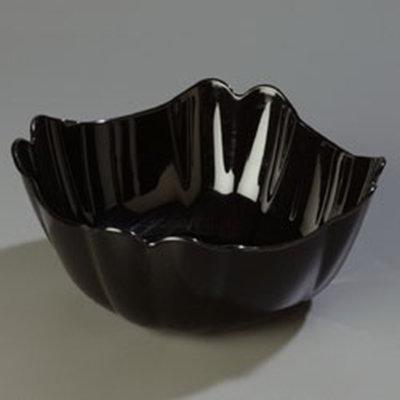 Carlisle 653203 3-qt Deli Bowl - Polycarbonate, Black