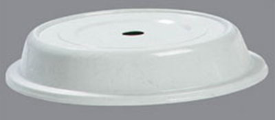 "Carlisle 91085203 11"" to 11-1/4"" Plate Cover - Polyglass, Gray"