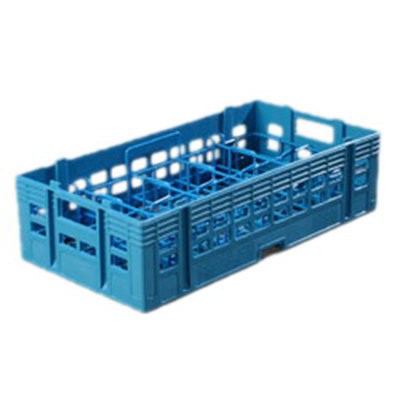 Carlisle C12314 Half Size Cup Rack w/ 10-Compartments, Carlisle Blue