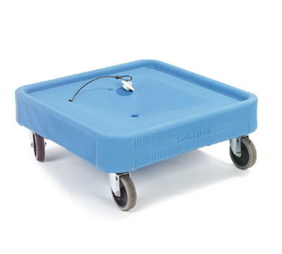 Carlisle C223603 Glass Rack Dolly - 350-lb Capacity, Platform Design, Polypropylene,