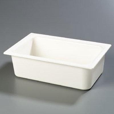 """Carlisle CM110002 Coldmaster Full Size Food Pan - 6""""D, White"""