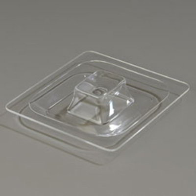 Carlisle CM112807 Coldmaster 1/6 Size Food Pan Lid - Clear