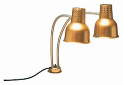 "Carlisle HL8185GC00 24"" Heat Lamp - Counter Mount, Gold-Finish Aluminum"
