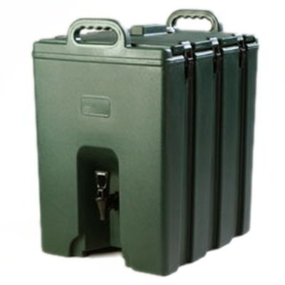 Carlisle LD1000N08 10-gal Beverage Server - Insulated, Forest Green