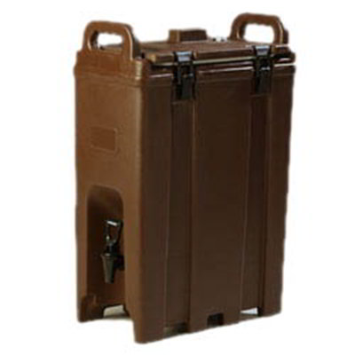 Carlisle LD500N01 5-gal LD Beverage Server - Insulated, Polyethylene, Brown
