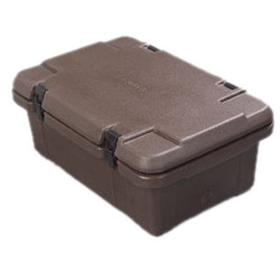 Carlisle PC160N01 18-qt Cateraide Food Carrier - Top Loader, Insulated, Polyethylene, Brown
