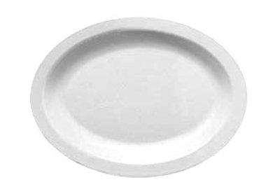 "Carlisle PCD41202 Oval Platter - 12x9"" P"