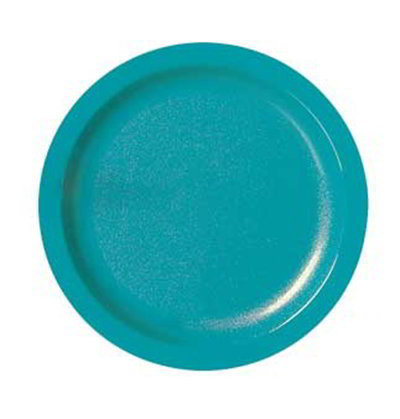 "Carlisle PCD21003 10"" Plate - Polycarbonate, Black"