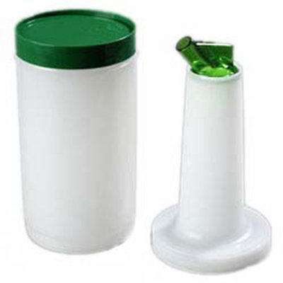 Carlisle PS601N09 32-oz Store 'N Pour Quart Complete - Polyethylene, Green